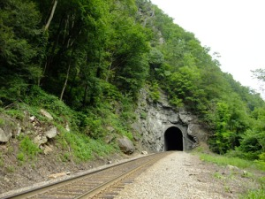 State Line Tunnel exit