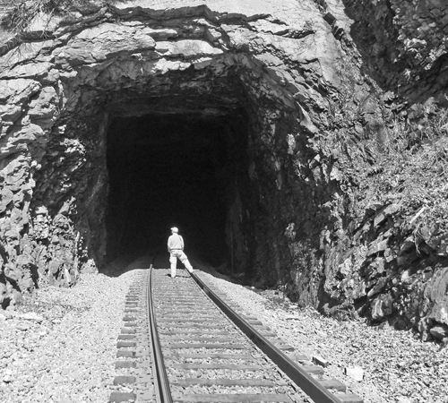 29 Clinch Mountain Tunnel Now In Color Blogging The